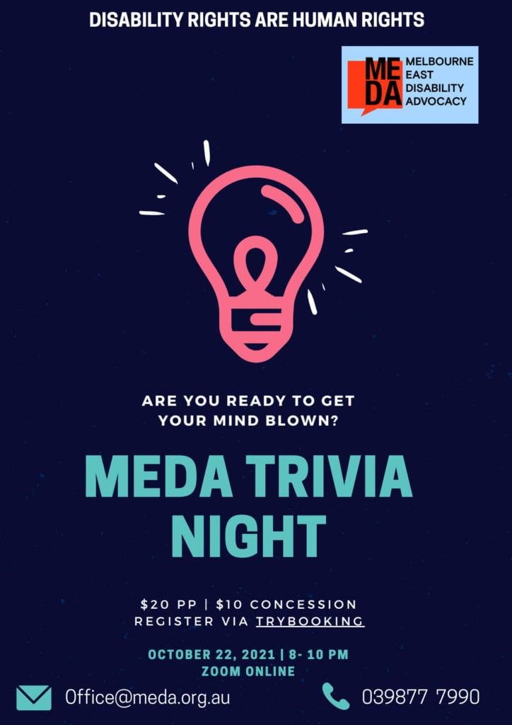 MEDA 2021 TRIVIA NIGHT